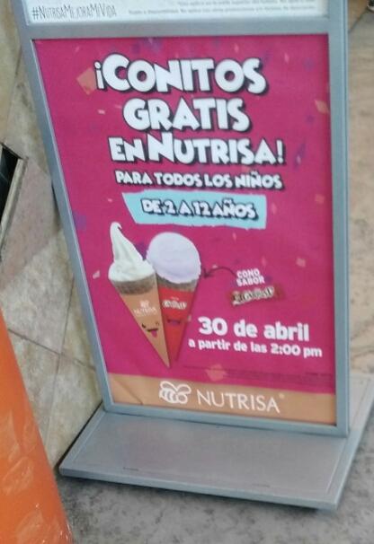 Nutrisa: celebra día del niño con conitos gratis