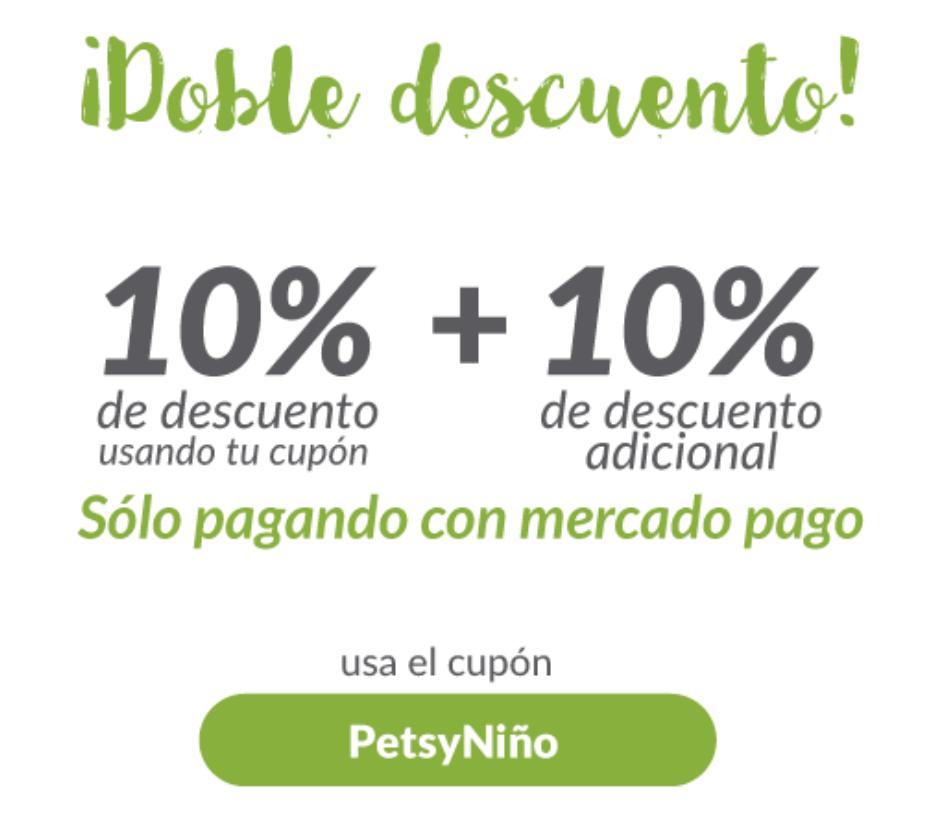 Petsy: 10% + 10% de descuento con MercadoPago
