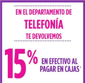 Suburbia: 15% de devolución en telefonia, 2x1 y medio en todas las playeras y más