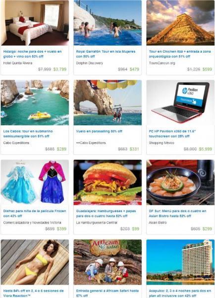 Ofertas de Hot Sale México 2014 en Groupon