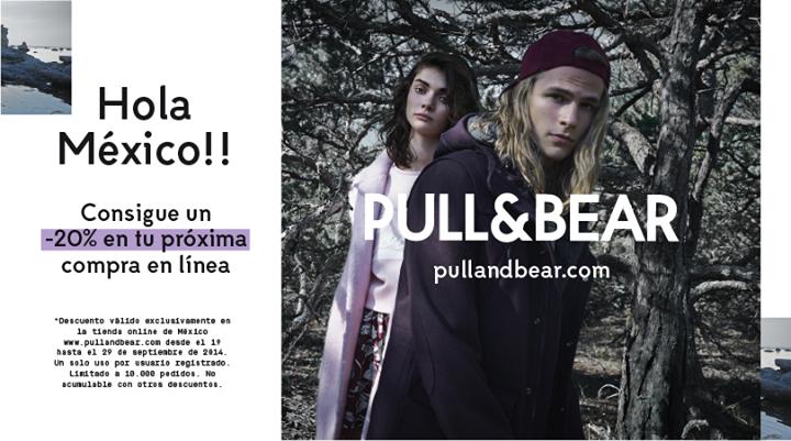 Pull & Bear: 20% de descuento en tienda online