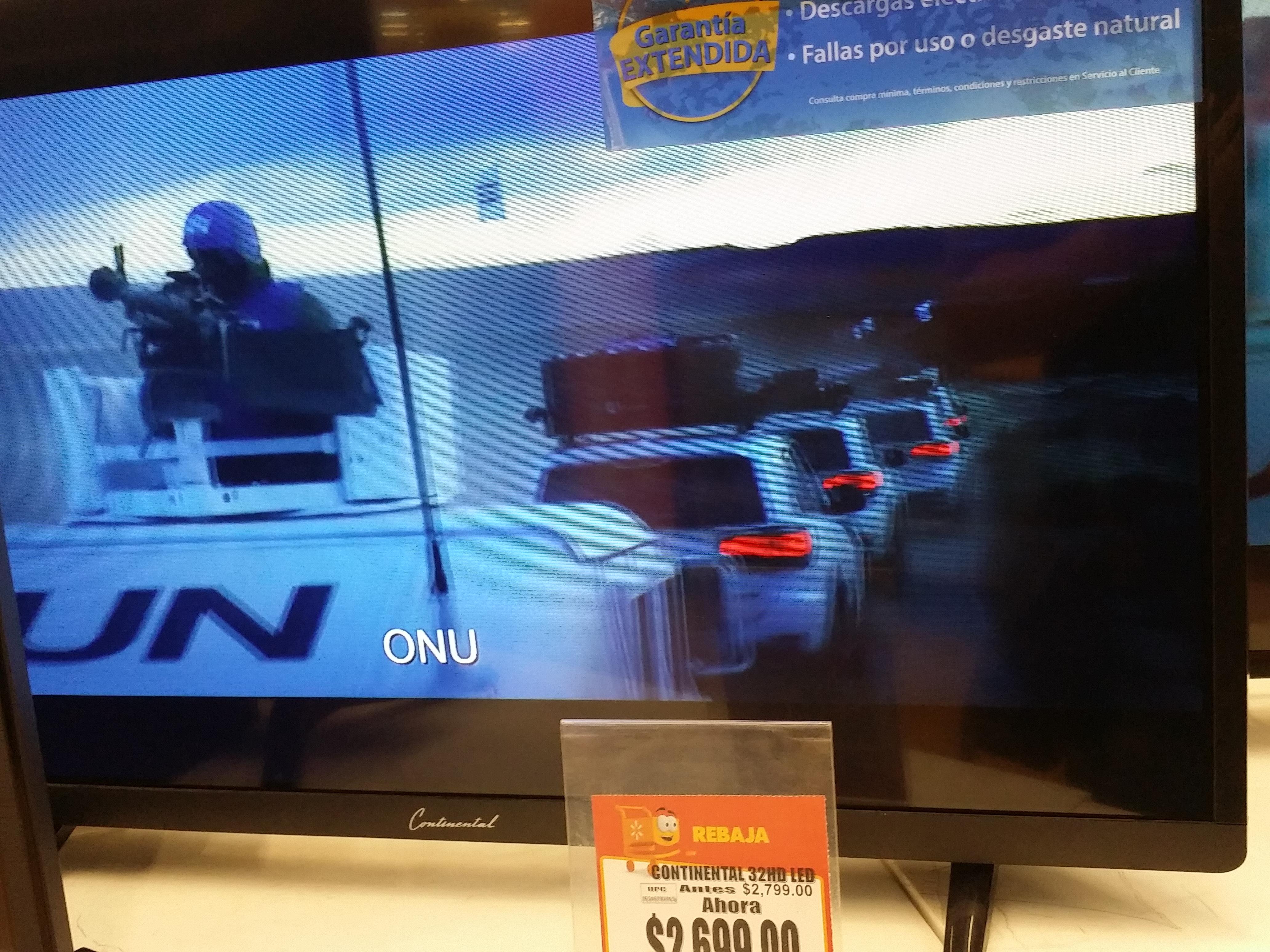 "Walmart: Pantalla 32"" marca Continental a $2,699"