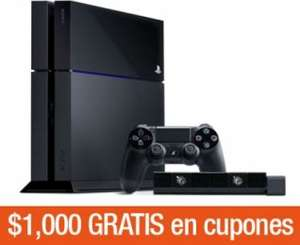 Decompras: Xbox One con Kinect $5,949 y PS4 $5,949 + $1,000 de bonificación y 6 MSI