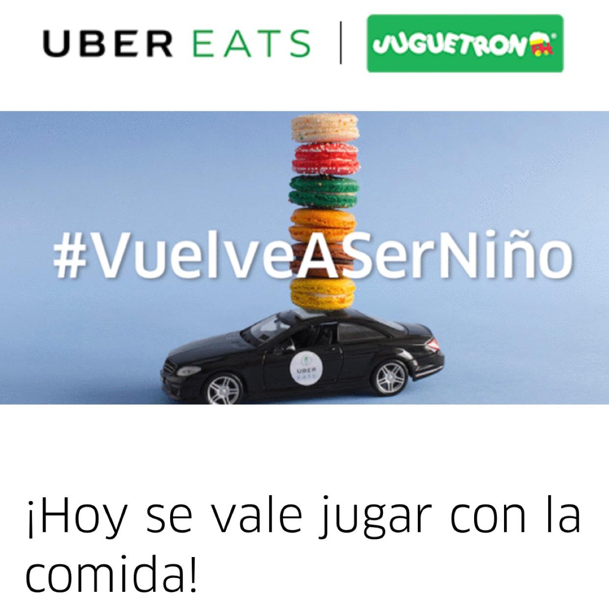 Uber Eats: Código de descuento, concurso para mes gratis y regalo del Día del niño
