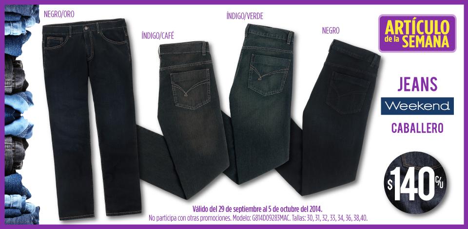 Suburbia: jeans de hombre $140