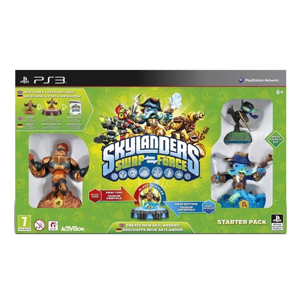 Walmart: Skylanders Swap Force para PS3, Xbox 360, Wii y 3DS $390