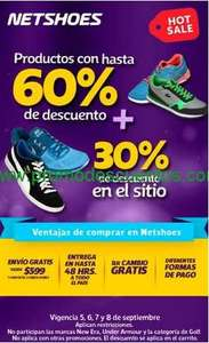 Ofertas de Hot Sale México 2014 en Netshoes