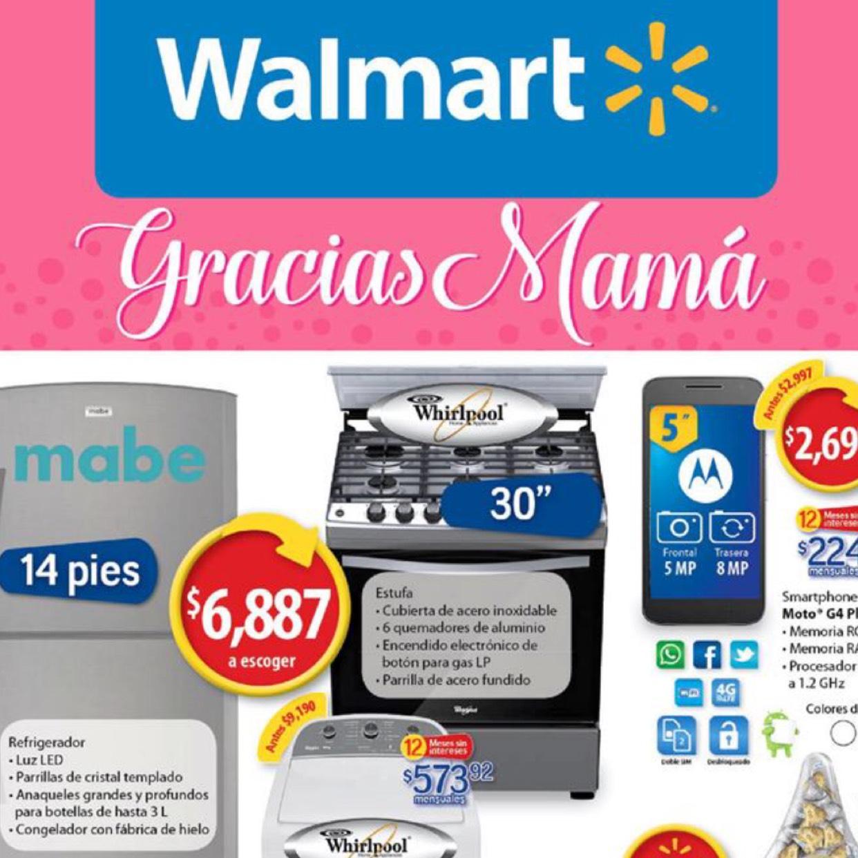 Walmart: Folleto Día de la Madre