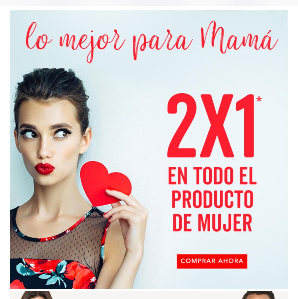 Promoda: 2x1 en todo el producto de mujer