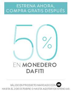 Dafiti: 50% en Monedero Dafiti
