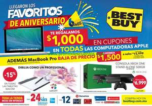 Folleto de ofertas en Best Buy del 2 al 15 de octubre