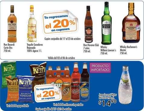 Folleto de ofertas en Chedraui del 3 al 16 de octubre