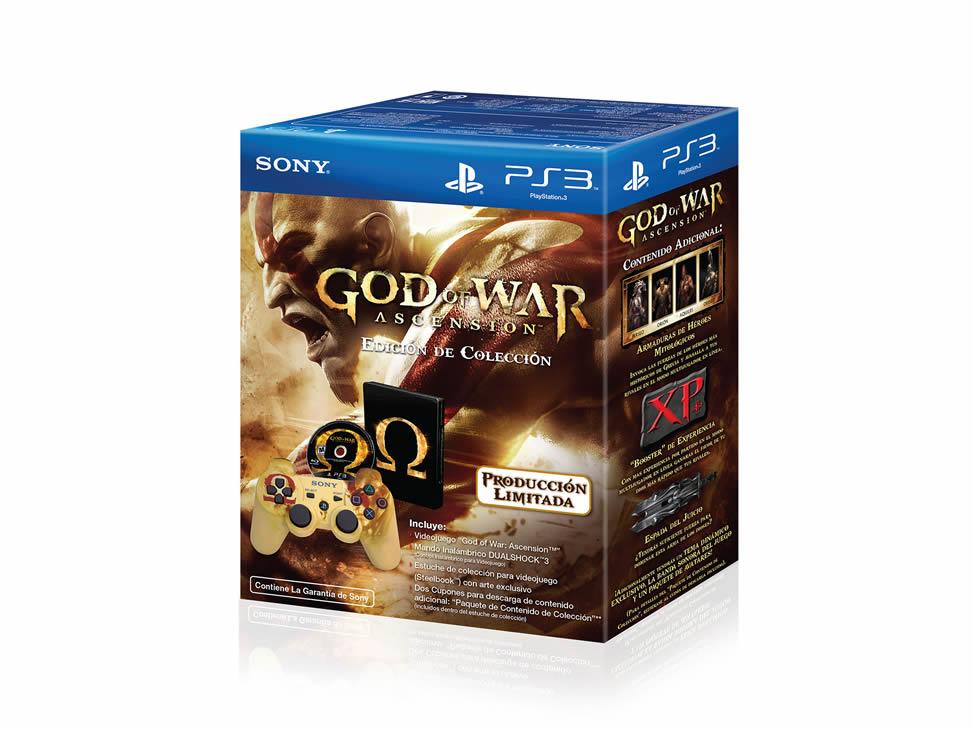Liverpool: God of War Ascencion edición con control $599, Super Smash Bros 3DS $639 y más