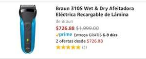 Amazon: Rasuradora Braun 310S