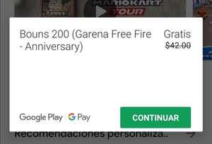 Free Fire: 200 DIAMANTES GRATIS (TELCEL)