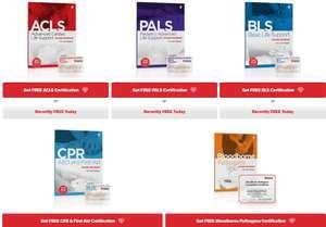GRATIS curso de RCP, soporte vital básico, pediátrico y más (en línea e incluye certificación)
