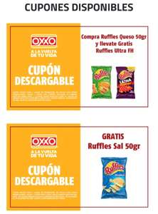 Oxxo: Cupón Sabritas gratis