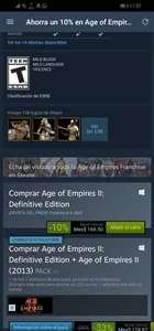 Steam: Age of empires 2 DE (el nuevo) en rebaja para manquear (Otra vez) precio más bajo histórico