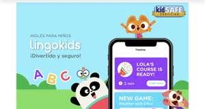 Lingokids: 3 meses gratis de cursos de inglés para niños