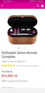 Liverpool: Estilizador Dyson Airwrap Complete $ 2000 de ahorro