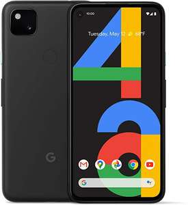 Amazon. Google Pixel 4a, 128 GB, color negro.