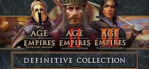 Steam: Age of Empires Definitive Collection - Precio Completa tu colección
