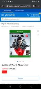 Walmart: Gears of war $296
