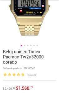 Liverpool: Reloj Timex Pac-Man