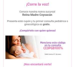 Reina Madre Coyoacán: Consulta Ginecológica Gratis