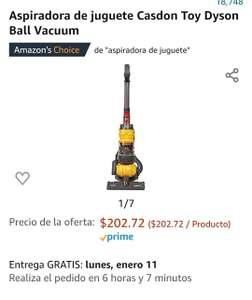 Amazon: Aspiradora DE JUGUETE Casdon Toy Dyson Ball Vacuum