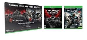 Elektra en tienda: Gears of War Ultimate Edition y Gears of War 4 para Xbox One (Versiones en físico)   $250