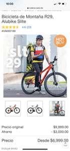 Costco: Bicicleta de montaña R29, Alubike slite