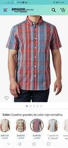 Amazon: Camisa columbia talla M