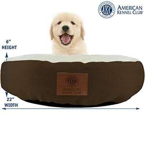 Amazon: cama para mascota (15.24cm alto x 55.88cm diametro)