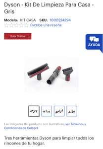 Best Buy: Dyson - Kit De Limpieza Para Casa - Gris