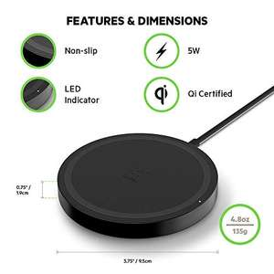 Amazon: Cargador inalámbrico Belkin Boost Up Wireless Charging Pad 5W