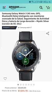 Amazon: Galaxy watch 3 mejor precio según keepa