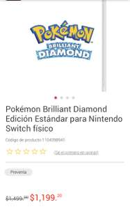 Liverpool: pokemon brilliant Diamond Nintendo switch