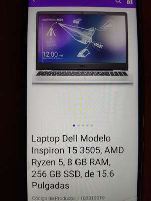 Liverpool: Laptop Dell Inspiron 15 3505