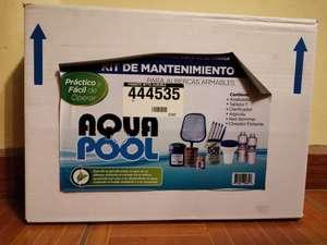 Home Depot: Kit de mantenimiento para albercas Aqua Pool