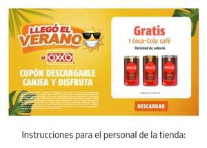 Oxxo: Coca cola café gratis (SOLO ALGUNAS CIUDADES)