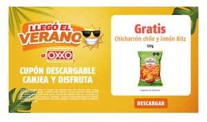 Oxxo: Chicharrón Chile y limón gratis