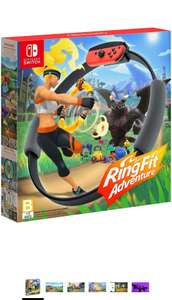 Amazon: Videojuego Ring Fit Adventure