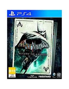 [Amazon] Batman: Return to Arkham - PlayStation 4 y Xbox One - Standard Edition