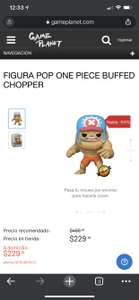 GAME PLANET FUNKO POP ONE PIECE BUFFED CHOPPER