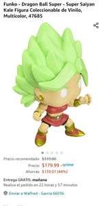 Amazon: Funko - Dragon Ball Super - Super Saiyan Kale Figura Coleccionable de Vinilo, Multicolor, 47685