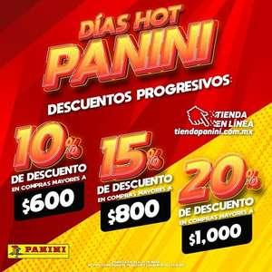 Tienda Panini - Promoción de Hot Sale