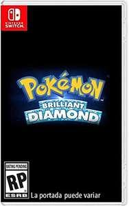 Amazon - Preventa Pokémon Brilliant Diamond para Switch