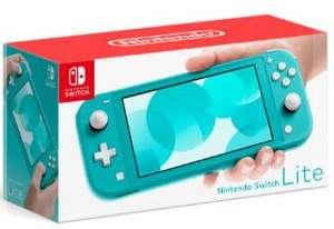HEB: Consola Nintendo Switch Lite (amarilla, coral, turquesa, gris) pagando con Citibanamex