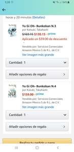 Amazon: Yugioh Manga libros 3 y 4